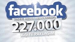 Ben, 227.000'e yakın sosyal ağ bağlantıma reklamınızı yaparım.